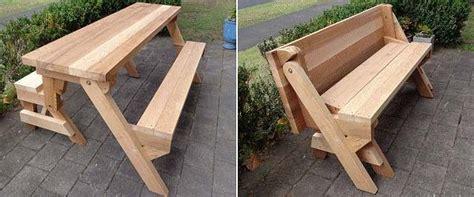diy picnic table plans  kids  adults