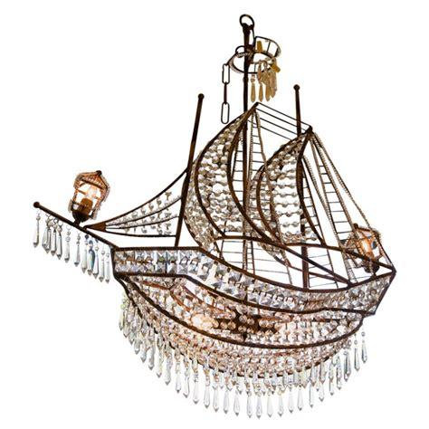 Crystal Ship Chandelier The Decorologist Ship Chandelier