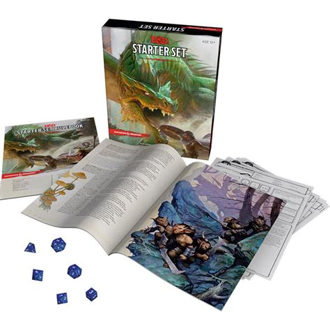 setter define dungeons and dragons starter set 653569976899