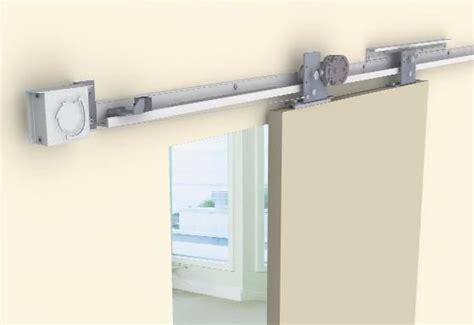 Pemko Barn Door Hardware Sirocco Is An Environmentally Friendly Alternative To Automated Self Closing Sliding Doors