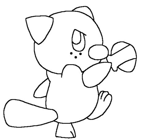 coloring pages of pokemon oshawott pokemon dewott coloring pages images pokemon images