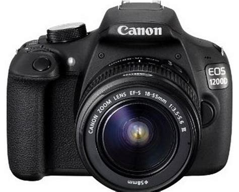 canon eos 1200d digital slr camera with ef s 18 55mm f/3.5