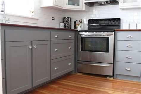 two tone painted kitchen cabinets modern jane two tone cabinets reveal
