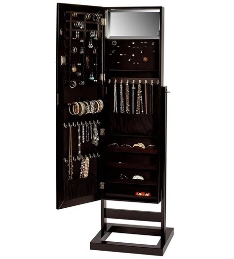 mirrored jewelry armoire mirrored jewelry armoire in jewelry armoires