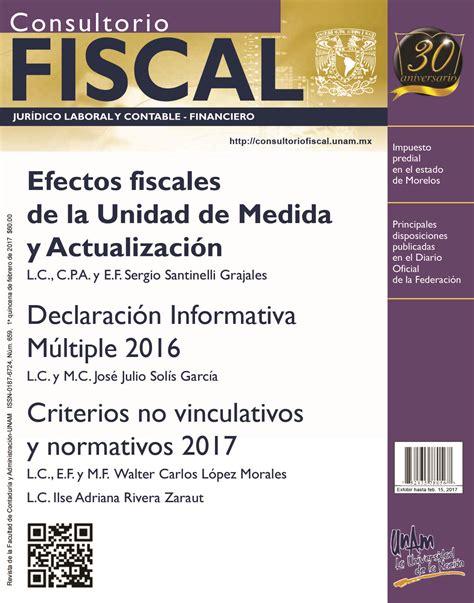 actualizacion de perdidas fiscales 2016 consultorio fiscal