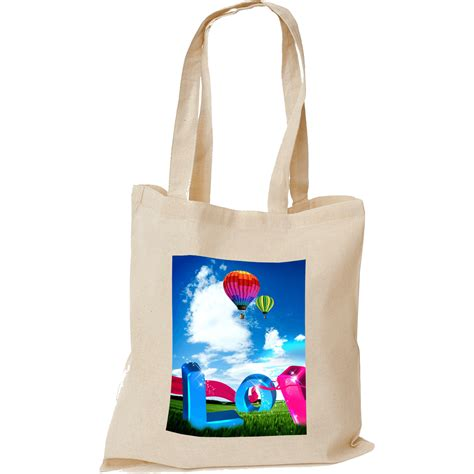 photo cotton printed tote bags 5oz hotline