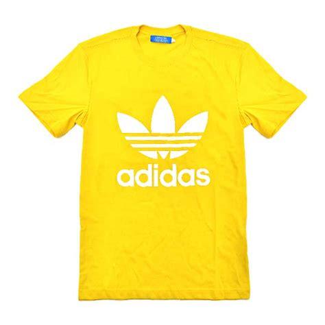 Tshirt Adidas Yellow adidas originals trefoil t shirt yellow add2394y