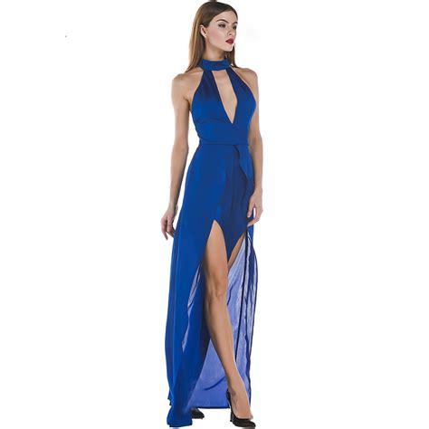 Backless Maxi Dress zabrina blue backless o neck maxi dress 171 rockariot