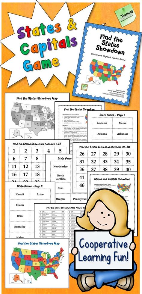 united states map your child learns 17 best images about elementary geography maps on