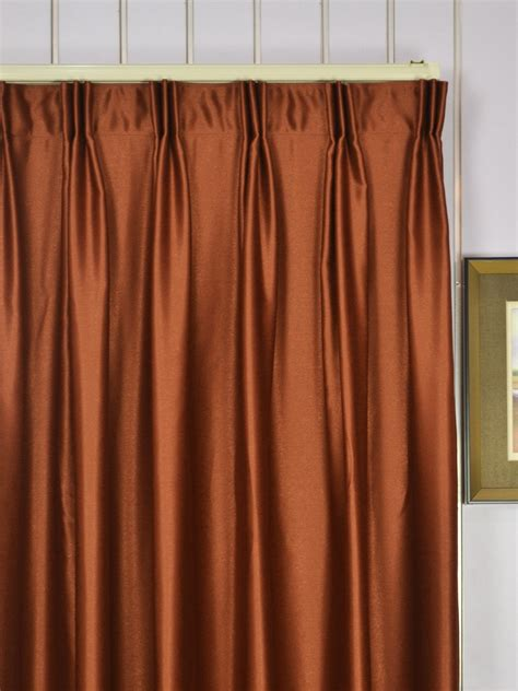 Custom Made Curtains Swan Brown Color Solid Custom Made Curtains