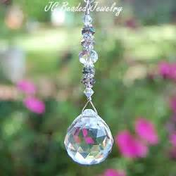 Hanging Crystals Hanging Prism Crystal Suncatcher Rearview Mirror Car Charm