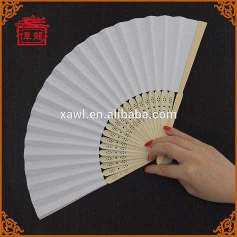 folding fan wedding invitations blank bamboo custom souvenir gift wedding invitation