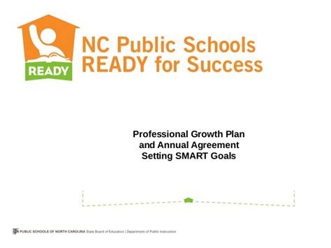 school counselor goals school counselor professional growth plan and annual