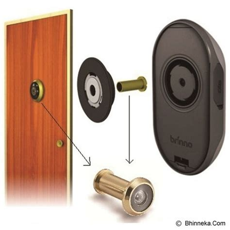 Brinno Mac 100 Security Hitam jual brinno digital peephole viewer phv mac murah bhinneka