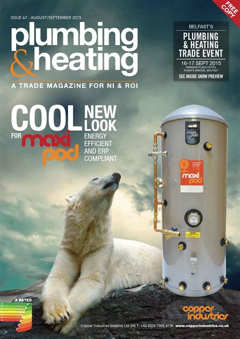 Plumbing Heating Magazine by Plumbing And Heating Magazine Issue67 By Mcavoy
