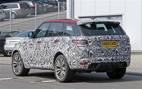 how much are range rover sports spyshots 2017 range rover sport svr is not revealing much