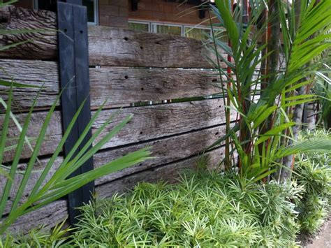 Railway Sleepers Fence by 27 Best Images About Front Fence On Wrought