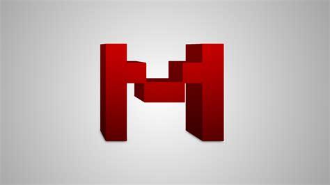 3D M logo desktop wallpaper by AlwaysNeverLose on DeviantArt M 3d Logo