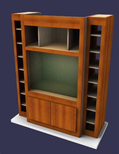 program to design furniture build an entertainment unit using furniture design