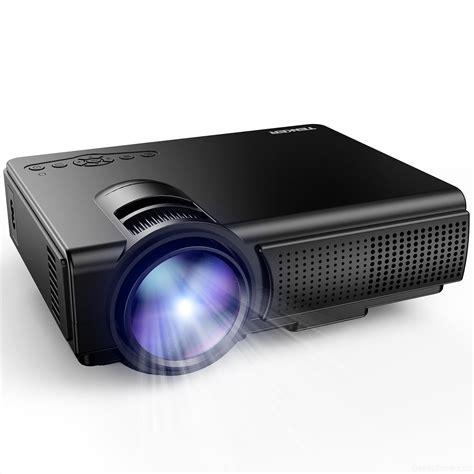 Projector Mini tenker q5 1500 lumens led mini projector design features review