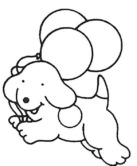 simple dog coloring page easy dog coloring pages kids ekids pages free
