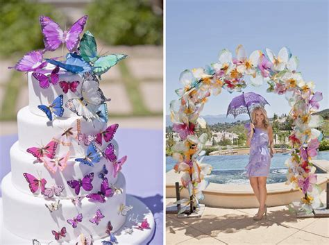 butterfly wedding theme decorations kara s ideas butterfly themed bridal shower kara s