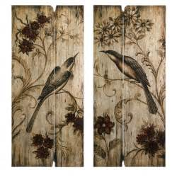 Country Wall Decor by Country Wall Country S 2 Bird Floral