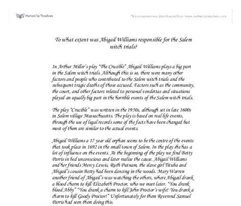 Salem Witch Trials Essay by How To Write Papers About The Salem Witch Trials Essay