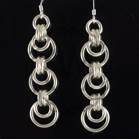jump rings for jewelry 151 best jewelry chain maille earrings images on