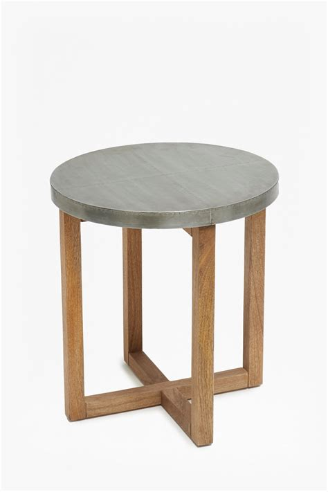 Zinc Side Table Zinc Side Table Furniture Connection