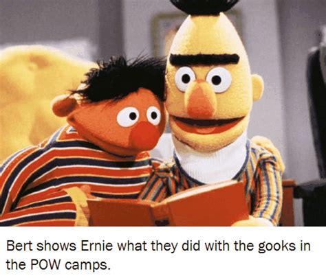 Bert And Ernie Meme - bert and ernie meme racist