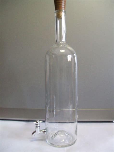 bottiglie di vetro con rubinetto bottiglia 150 cl con rubinetto enotecnica albese