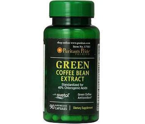 does it work or not? puritan's pride green coffee bean