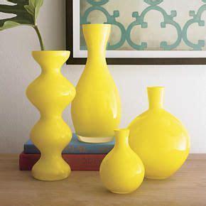 Yellow Vase Decor Fresh Summer And Yellow Decor Spray Paint Vases Accent
