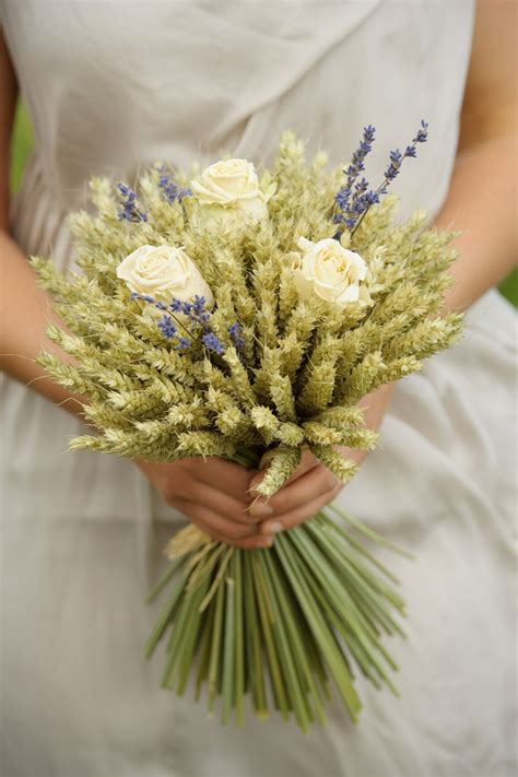 Wedding Bouquet Non Floral by Wheat Bouquet Non Floral Wedding Bouquet Ideas For