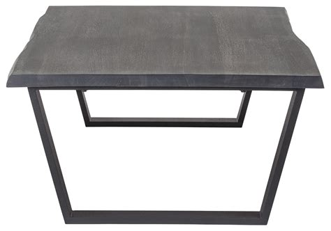 versailles oxidized grey wood coffee table hgsx205 nuevo