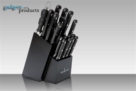 18pc hell s kitchen knife set