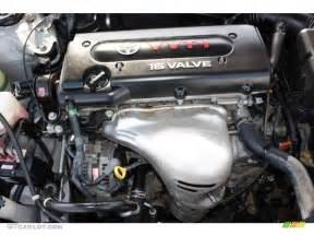 Toyota 2 4 Engine 2004 Toyota Camry Le 2 4 Liter Dohc 16 Valve Vvt I 4