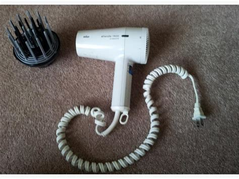 Braun Hair Dryer Silencio 1600 by Free Braun 174 Silencio 1600 Professional Hair Dryer Saanich