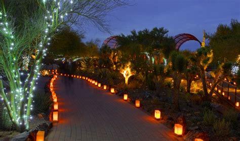 Desert Botanical Garden Luminaria Pin By Angie C On Winter Pinterest