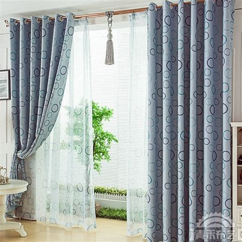 printed curtain printed curtain in modern design for window