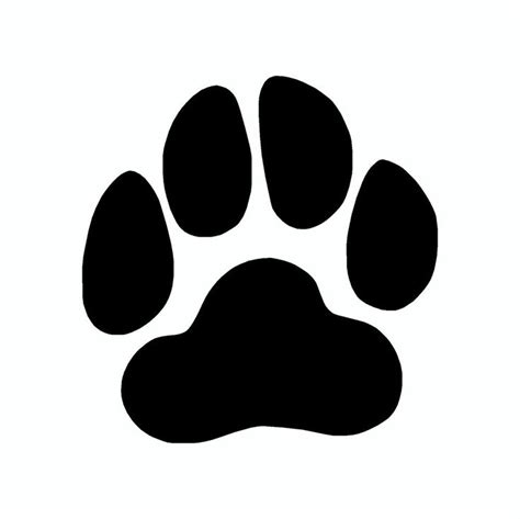 puppy paw best 25 paw prints ideas on paws paw and prints