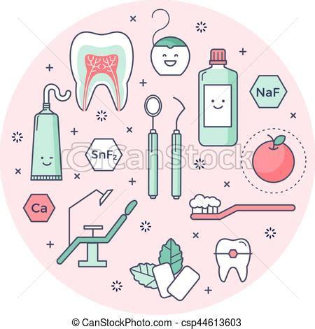 imagenes animadas de odontologia contorneado iconos sobre odontolog 237 a herramientas