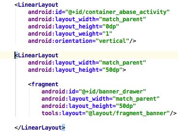xml layout hidden android how to hide a fragment included in a