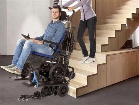 sedia per disabili per salire scale lg2030 la sedia a rotelle permette di salire le scale