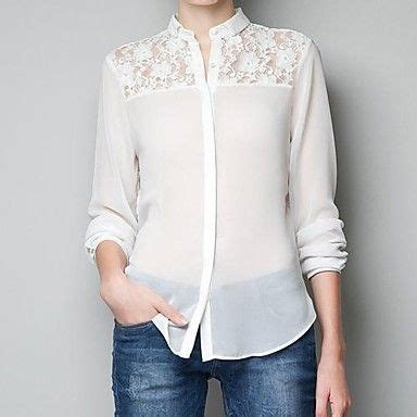 Kaos Top White Blouse Putih 63 best white blouse images on lace blouses lace tops and white blouses