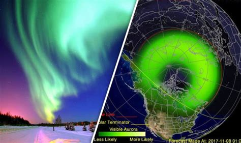 where can you see the northern lights northern lights in uk tonight where can you see the