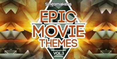epic film themes melodic piano sles epic movie themes vol 3 film