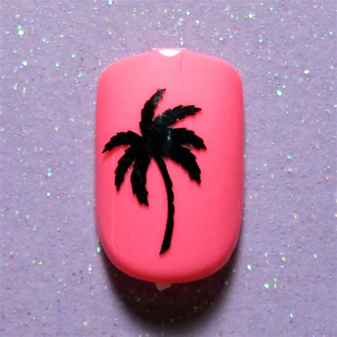 palm tree nail sticker palm tree vinyl nail decals nail stickers planner stickers