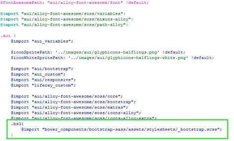 tutorial bootstrap sass integraci 243 n de bootstrap 3 con liferay 6 2 entrepixels